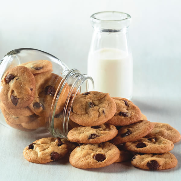Mini Chocolate Chip Cookies